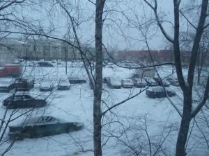 Снежные сугробы!