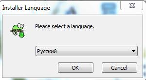 Выбираем язык в Notepad++
