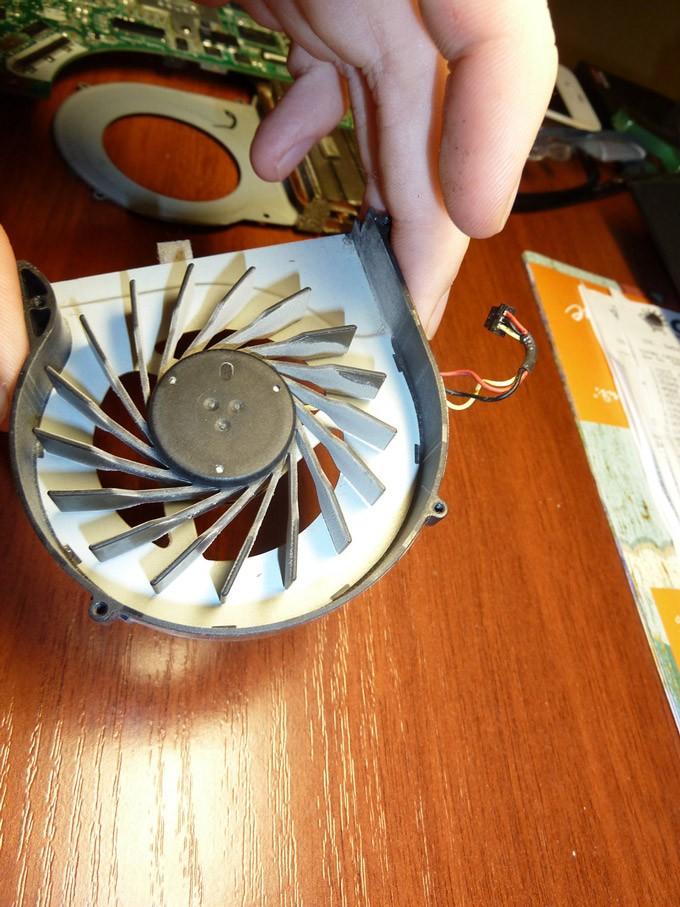 Вентилятор кулера